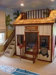 Awesome Bunk Bed Awesome Bunk Bed Idea Surf Shack Jacks Room Pinterest