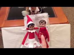 on shelf reindeer on the shelf on sleigh to fly to the pole with there