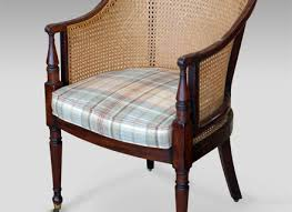 Library Chair Antique Bergre Chair Antique Library Chair Caned Antique Chair