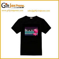 custom light up t shirts light up custom t shirts source quality light up custom t shirts