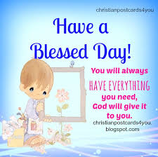a blessed day christian image and quotes christian cards