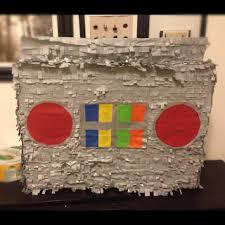 craft yo gabba gabba boombox pinata 1 2 3