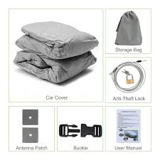 amazon com pumpkin 5 layer car cover breathable dust prevention