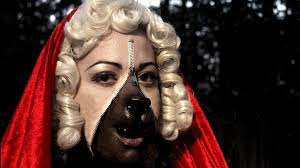 red riding hood spirit halloween unzipped zipper face makeup tutorial youtube