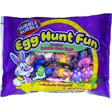 easter egg gum dubble egg hunt wrapped eggs groovycandies online