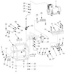 campbell hausfeld of25135a parts diagram for air compressor parts