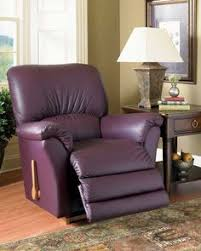 La Z Boy Sanders Furniture by Leather And Bonded Leather Sofas Purple Leather Furniture