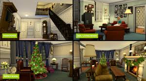 mod the sims griswold family home christmas vacation 1989 ts4