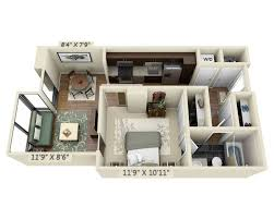 One Bedroom Floor Plans For Apartments Floor Apartment Plans And Pricing For Capitol View On 14th