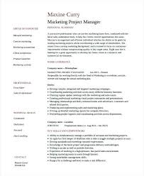 marketing manager resume exles sales marketing manager resume sles project exles free word