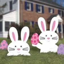 easter rabbits decorations ams199069 jpg