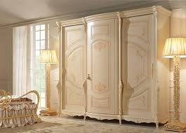 classic wardrobe 3 door wardrobe hand painting in classic style idfdesign
