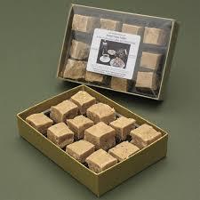 fudge gift boxes toasted kentish cobnut fudge gift box potash farm