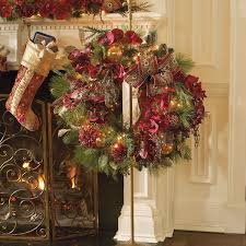 telescoping wreath stand frontgate alternate ways to hang your