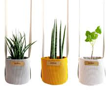 The Summer And Winter Garden - breathable garden pots made from fabric core77