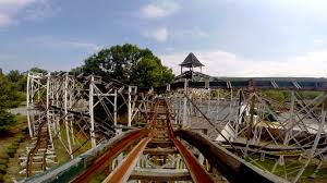 Lights On The Lake Lakemont Park Leap The Dips Front Seat On Ride Hd Pov Lakemont Park Youtube