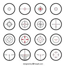 crosshair vectors photos and psd files free