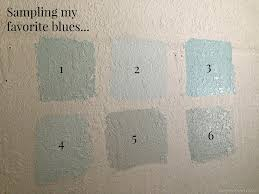 eye more paint samples my new greige paint n blue paint colors in