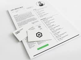 Business Card Resume 20 Beautiful Free Resume Templates 2018 Dovethemes