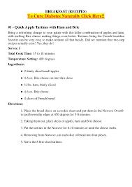 diabetic breakfast menus diabetes ebook nuwave oven cookbook 101 recipes for busy f