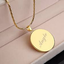 real gold nameplate necklace real gold name necklace responsiveprojects