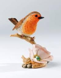 robin bird figurine robin on robin bird figurine