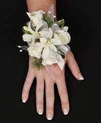 white corsages for prom sparkling white prom corsage in johnsbury vt all about