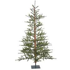 vickerman unlit 7 x 57 bed rock pine artificial tree