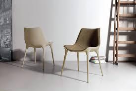 Beige Leather Dining Chairs Langham Modern Dining Chair Modloft
