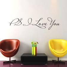 online get cheap modern wall decal aliexpress alibaba group dctop love you wall stickers decor bedroom decals vinyl adhesive decoration