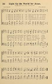 Light Up The World Light Up The World For Jesus Hymnary Org