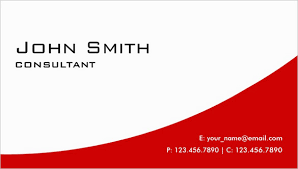 business card template pdf 21 red business cards free printable