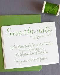 18 classic save the dates martha stewart weddings
