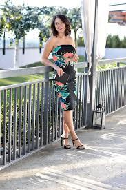 express dress express tropical print dress