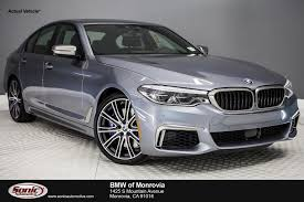 new 2018 bmw 5 series m550i xdrive for sale near los angeles ca