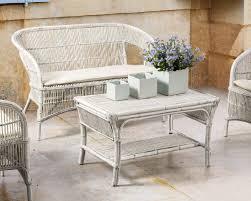 divanetto vimini divanetto rattan bianco shabby mobili etnici provenzali shabby