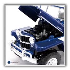jeep station wagon 2018 1955 willys jeep station wagon by lucky die cast 1 18 scale