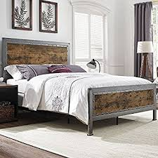 Wood Head And Footboards Amazon Com Hand Crafted Queen Bed Kitchen U0026 Dining
