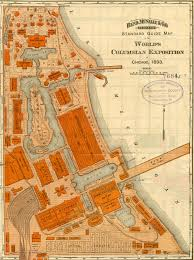 World Map Chicago by Chicago World U0027s Fair Found In Collection
