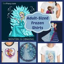 elsa and shirts for adults