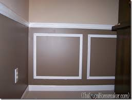 wainscoting for dining room before after dining room reveal