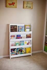 small bookcase on wheels for children to keep their favorite books