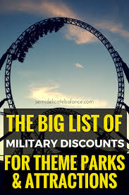 Six Flags Promo Code 2015 List Of Military Discounts For Theme Parks And Attractions