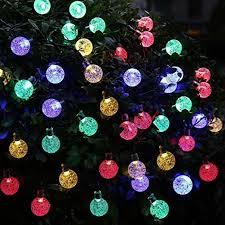 outdoor christmas tree lights large bulbs annengjin 30 led solar powered fairy lights outdoor christmas tree