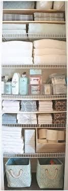 Bathroom Closet Storage Ideas Organized Bathroom Closet Simply Organized Organized Bathroom