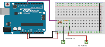 make a buzz wire game with an arduino