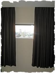 White Black Curtains Curtains Attractive Light Blocking Curtains For Family Room