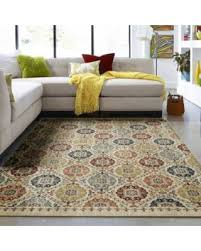 savings on mohawk home lifeguard floral medallion accent rug