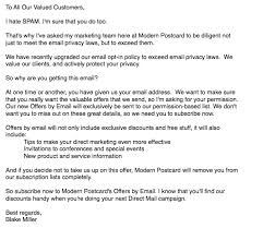 reclaim old customer emails example