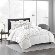 Urban Duvet Covers Urban Habitat Bellina White Cotton Duvet Cover Set Free Shipping